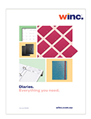 Winc 2020 Diary Product Catalogue
