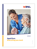 Winc Product Catalogue for Aged Care
