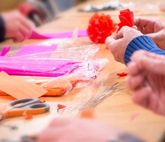 arts, craft, leisure, aged care