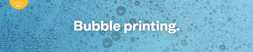 Bubble printing