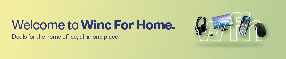 Welcome to Winc For Home. Deals for the home office, all in one place.