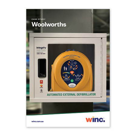 Winc Woolworths case study
