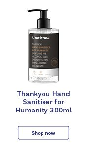 Thankyou Hand Sanitiser 500ml