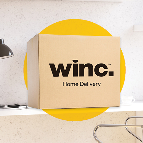 Winc home delivery