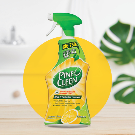 Pine O Cleen Multi Purpose Disinfectant Spray Lime Burst Trigger 750ml