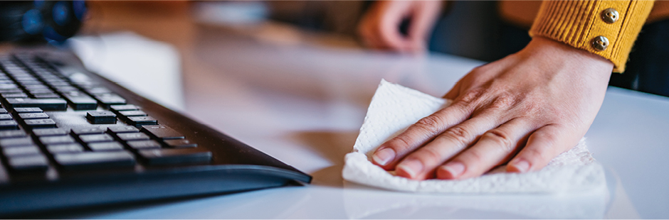 Cleaning vs disinfecting: top tips from Winc's Medical and Health Specialist