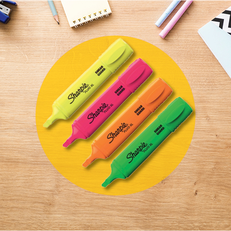Sharpie highlighers