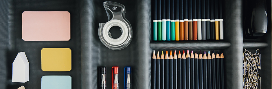 4 products you need for the ultimate stationery drawer