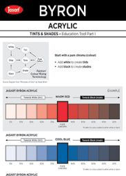 Tints & Shades Coloured.