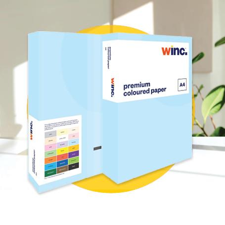 Winc Premium Coloured Paper