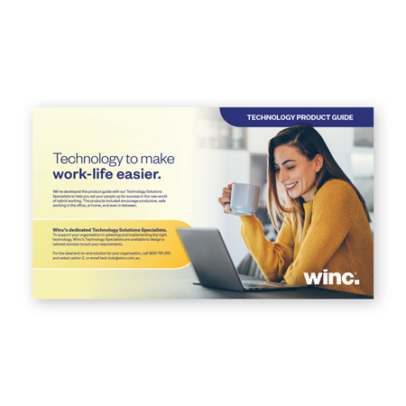 Product Guide: Technology to make work-life easier.
