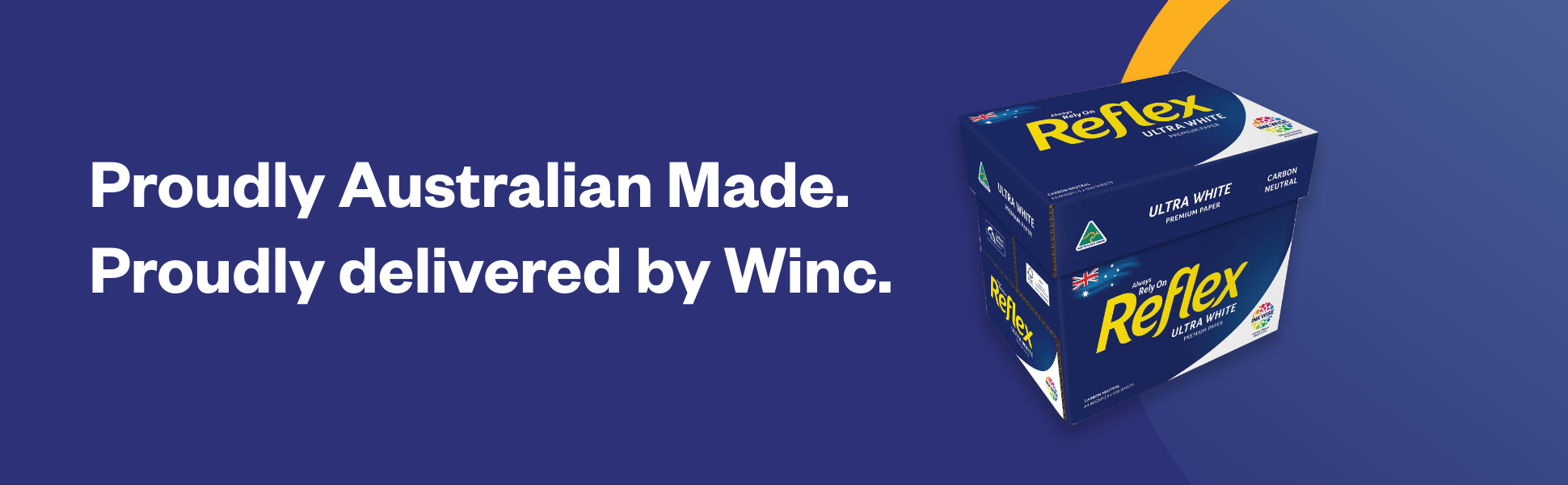 Proudly Australian Made. Proudly delivered by Winc